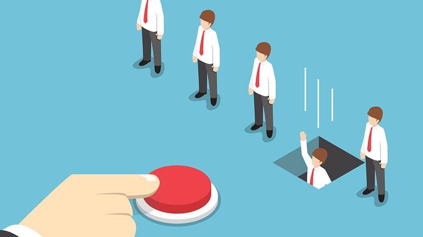 Alta rotatividade gera problemas no ambiente de trabalho e no fim das contas, prejuízo financeiro – Foto: Divulgação