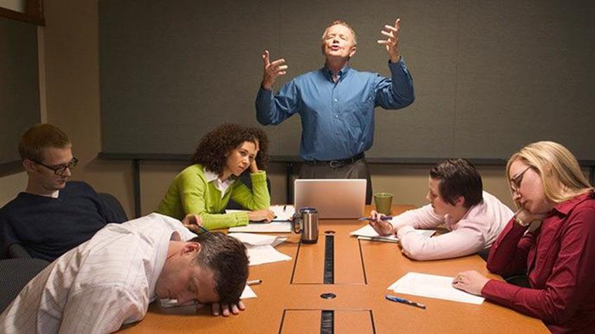 Não perder tempo em uma reunião ajuda a equipe a produzir mais – Foto: Divulgação